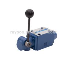 Válvula de control direccional manual tipo rexroth WMM