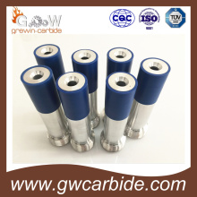 Carbide Spray Liner/Nozzle with Steel Jacket and Threads