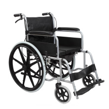 Pl-807D Manual 2.0mm Perfect Aluminum Alloy Chair Frame Wheel Chairs