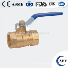 ZFV-BV-15~50 2 inch threaded brass ball valve