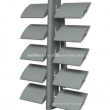 Архитектурный регулируемый алюминиевый солнечный оттенок