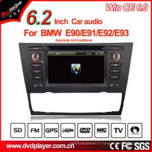 Système de navigation GPS Hualingan Lecteur DVD pour voiture pour BMW 3 E90 / E91 / E92 / E93 (automatique)