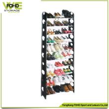 Custom Display Rack Waterproof Storage Plastic Shoe Rack