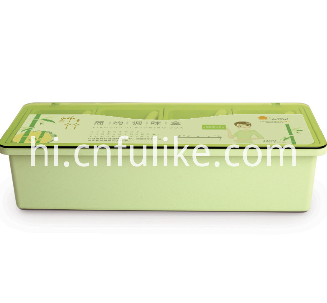 Plastic Spice Container Box