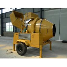 Mini misturador de concreto móvel a diesel autocarregável (JZR500)