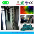 Epoxy Gloss Safety Yellow Pulverlackering Paint-Industrial Durable Ny serie för järn med UV-resistent