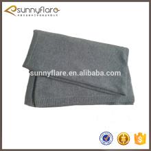 cobertor de malha de 100% de cashmere de luxo