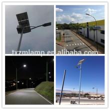 Luz de rua solar de 9 medidores 80w com luz de rua conduzida solar do pólo
