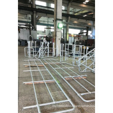 Jimu Hot DIP Galvanized Ball Joint Handrails or Powder Coated Painted Finish