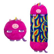 Blanket Kids Sleep Bag for Boys Girls, 3 in 1 Sleeping Bag Plush Toy