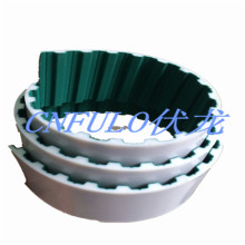 Open Ended PU Timing Belt with Green Cloth, At10