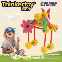 Творческий Мозговой Поезд & Прекрасная Игрушка Мотора для Детей