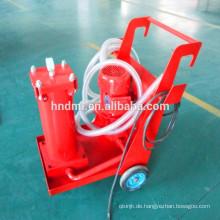 Tragbare Filterwagen Hersteller von tragbaren Ölfilterwagen aus China