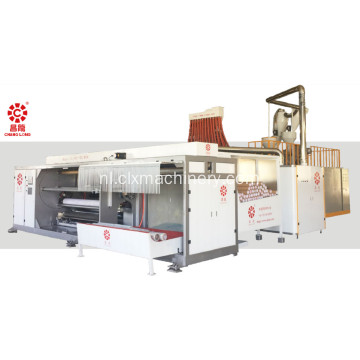 Four-Shafts Roll Changing Casting Film Machine
