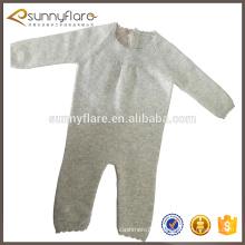 Combinaison d'hiver tricotée en cachemire pur bébé nouveau-né