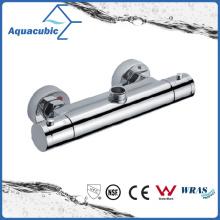 Bathroom Shower Brass Chromed Anti-Scald Thermostatic Tap (AF4112-7)