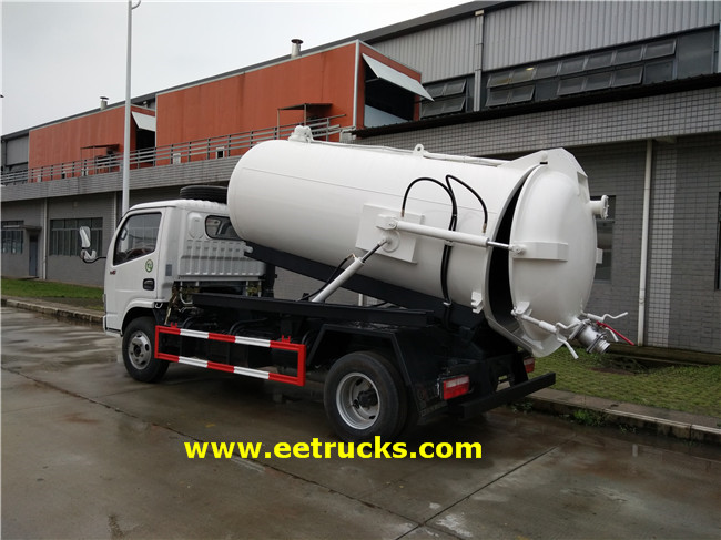 Dongfeng Waste Suction Trucks