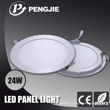 Boîtier blanc léger de vente de panneau de LED d'usine avec le matériel de moulage en matrice