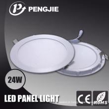 Fábrica que vende o alojamento branco claro do diodo emissor de luz do painel com material de fundição