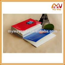 Caderno do tema do filme popular, mini notebook personalizado