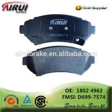 Hochwertige Bremsbeläge, Autoteile Chinesischer Hersteller (OE: 1802 4962 / FMSI: D699-7574)