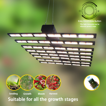 640W LED Grow Light Regulable