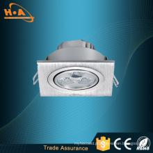 Lâmpada do teto do painel do diodo emissor de luz do fabricante 3X1w SMD2835 de China