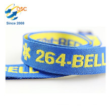 Factory Direct Eco-Friendly Promotion Cotton Jacquard Woven Lanyards