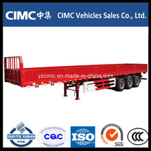 Cimc 3 Axles Cargo Side Wall Semi Trailer