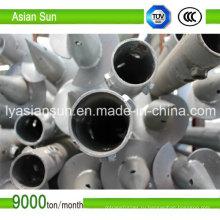 Винтовые сваи для Фотоэлектрических систем с сертификатом ISO 9001
