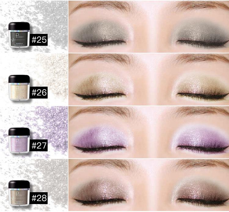 Eye Shadow And High Light Powder 12