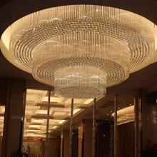 Luxury hotel restaurant chandelier ceiling lamp