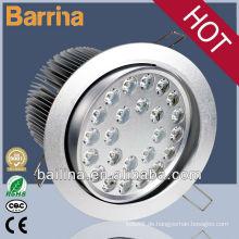 meistverkaufte Produkte hoher Qualität 24W eingelassenen LED-Deckenleuchte