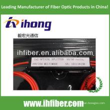 Grande diâmetro do núcleo Multimodo Fibra óptica Splitter 105 / 125um