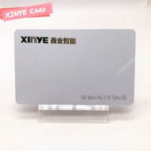 Tarjeta blanca RFID de tarjeta inteligente sin contacto de PVC personalizada