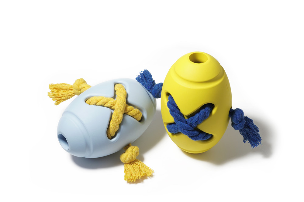 Non-toxic Pet Toy Rugby