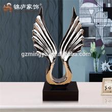 Big table sculpture polyresin home decoration piece interior decorative statue