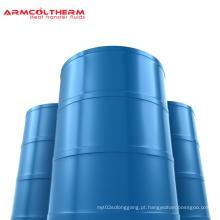 Fluido de transferência de calor para transporte de petróleo bruto