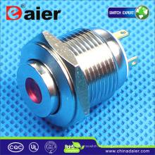 interruptores de circuito pulsador; liberación de la puerta del botón; luz de interruptor de botón