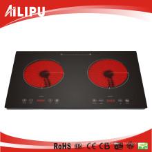 Cookware de doble quemador de electrodomésticos