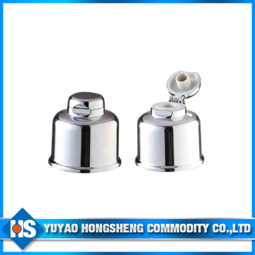 Hy-F22 Sliver Aluminum Shampoo Cannon Cap