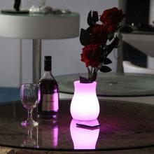 Maceta decorativa LED para decoración de hotel