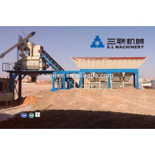 YHZS50 dry concrete mixing plants 50m3/h