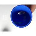 Blau 45 Grad 76mm 3 '' Hals Ellenbogen Silikon Heizkörper Schlauch Turbo