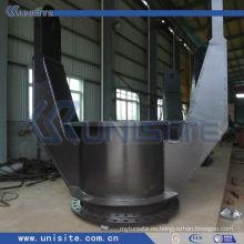 Junta de tubería de acero para la parte del sistema de tubo de succión en la draga TSHD (USC-8-009)