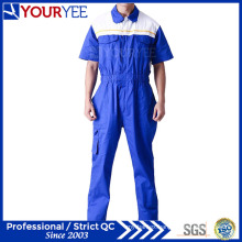 Short Sleeve Coveralls for Sale Breathable Boiler Suits (YLT117)