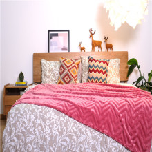 Home Textile Twill gebürstet Fleece Indoor Throws Decken