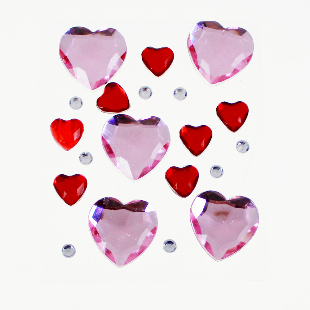 Heart Shaped Jewels Gemstone