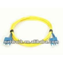 SC-SC Single mode Duplex cabo de fibra óptica patch 1 metro