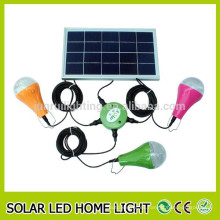 Precio bajo alto brillo led solar luz interior, luz interior led solar